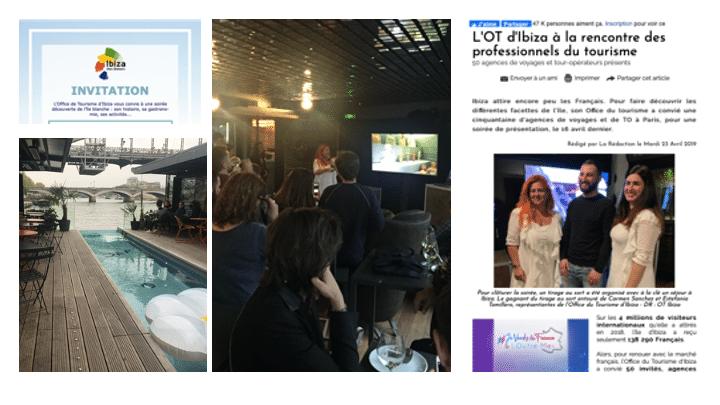 Visuels du workshop sur Ibiza
